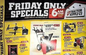 tractor supply black friday deals ad printout the gazette review