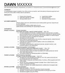 Operations Assistant Resume Best Grants Administrative Assistant Resume Example Livecareer