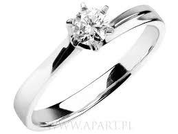 apart pierscionki pierścionek apart pierścionki zaręczynowe apart z białego złota