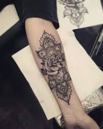 image result for roses forearm ink