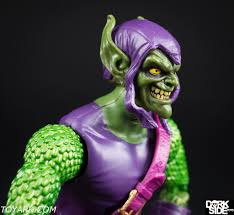 marvel legends green goblin photo shoot the toyark news