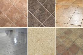 types of flooring tiles kitchen floor types gallery of