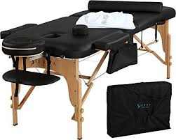 used portable massage table for sale sierra comfort all inclusive portable massage table amazon ca