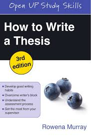how to write a thesis open up study skills amazon co uk rowena