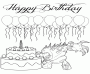 elsa wishes happy birthday colouring coloring pages printable