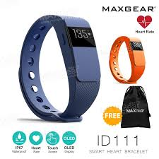 heart rate calorie bracelet images Maxgear id111 plus heart rate pedometer fitness wristband smart jpg