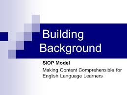 Be Like Bill The Comprehensible - siop model making content comprehensible for english language
