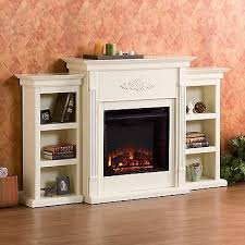 Fireplace Console Entertainment by White Electric Fireplace Entertainment Center Bookshelf Media