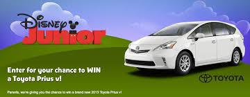 win a toyota prius disney junior fans win a toyota prius and this fathers day on
