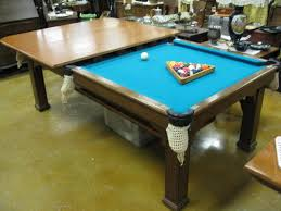 dining table converts to pool table pool dining table combo thejots net