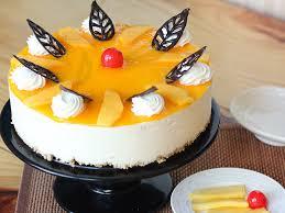 Kek Mango cake delivery in delhi send cakes order for midnight