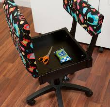 arrow cabinets sewing chair riley blake sewing fabric height adjustable hydraulic sewing chair
