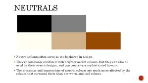 neutral colours web design colour