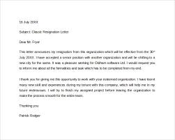 astonishing formal resignation letter with 2 weeks notice with