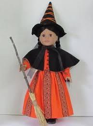 American Doll Halloween Costumes Fleece Pumpkin Costume 18 Dolls American Pumpkin