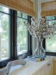 Valance Styles For Large Windows Large Kitchen Window Treatments Hgtv Pictures U0026 Ideas Hgtv