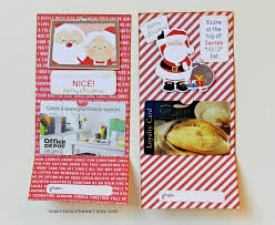 fast food gift cards it s written on the wall santa s christmas gift card holder
