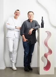 Karim Rashid Karim Rashid Sculpts Deconstructed Decant Bottle For Stratus Vineyards