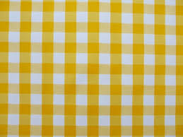 table cloth oval wipe clean tablecloth yellow gingham the tablecloth company