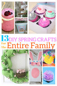 happy home decor 13 diy spring crafts for the entire family