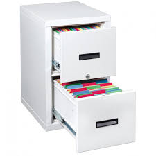 White Filing Cabinet 2 Drawer Furniture Provide Fireproof Filing Cabinets For Your Office To