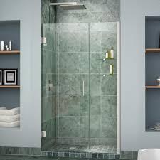 28 Shower Door Dreamline Shdr 20407210s Unidoor 40 28 Inch Shower Door With 12