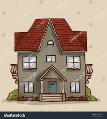 Cute House by Small Cute House Vector Stock Vector 299593781 Shutterstock