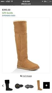 womens ugg boots dillards the knee chestnut bailey bomber ugg boots vinted com