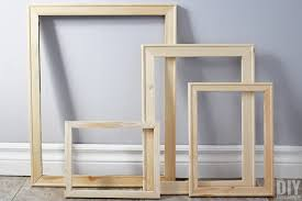 wood frames how to make cheap wood frames the and easy diy way