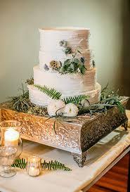 wedding cake greenery rustic white wedding cake for fall a wedding cake