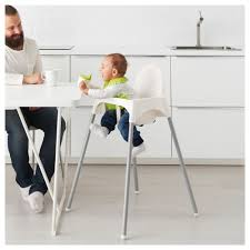 ikea malaysia catalogue antilop highchair with safety belt white silver colour ikea