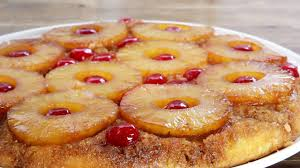 omgekeerde ananastaart pineapple upside down cake youtube
