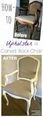 how to reupholster a dining room chair how to upholster a caned back chair www pneumaticaddict com diy