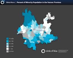 Kunming China Map by China U0027s Karst Region Infographics Circle Of Blue