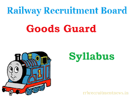 exam pattern of goods guard rrb goods guard syllabus 2018 exam pattern in hindi pdf download