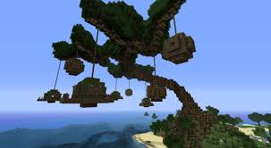 Minecraft Project Ideas Tree Village Minecraft Project Minecraft Pinterest Minecraft