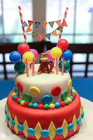 curious george cake topper natalie s curious george birthday party ww linky wordless