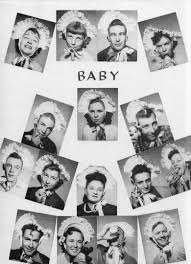 baby yearbook symsonia high school yearbook memoirs 1953