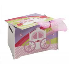 Wooden Toy Box Design by Wooden Toy Box With Princess Fairytale Design Noa U0026 Nani