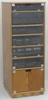 Stereo Cabinet Glass Door Oak Stereo Cabinets With Glass Doors Cabinet Doors