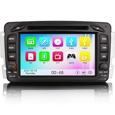 7 u0026 034 dvd player car stereo gps satnav bluetooth radio for