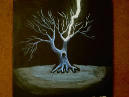 cool trees painting malsies
