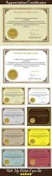 Appreciation Certificate Templates Best 25 Certificate Of Appreciation Ideas Only On Pinterest