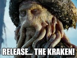 Release The Kraken Meme - release the kraken davy jones quickmeme