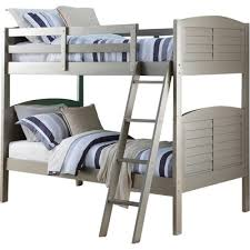 Donco Kids Shutter Twin Bunk Bed  Reviews Wayfair - Donco bunk beds