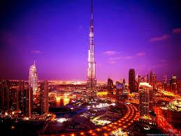 Burj Khalifa Burj Khalifa At Night Wallpaper
