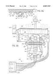 patent us6065365 control lever assembly google patents