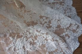 tissus robe de mari e articles similaires à mariage en dentelle tissu de dentelle