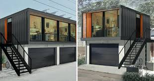 garage shop designs shipping container home with garage door shipping container garage