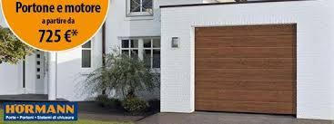 porte sezionali hormann promozioni porte garage roma rati